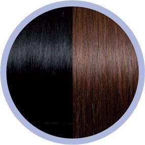 Afbeelding van Flip In Hair - 30/35cm - met zijkanten - straight - #1B/33