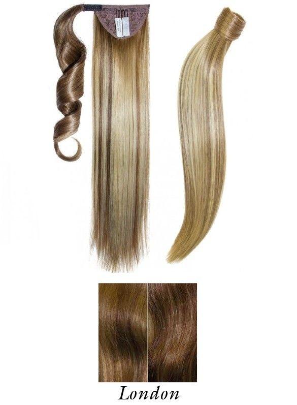 Afbeelding van Balmain Catwalk Ponytail - Soft Curl - 50cm - London