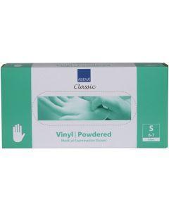 Abena Vinyl-Handschoenen Classic gepoederd Maat S transparant 100st