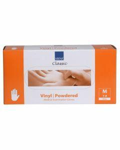 Abena Vinyl-Handschoenen Classic gepoederd Maat M transparant 100st