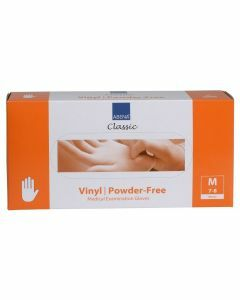 Abena Vinyl-Handschoenen Classic poedervrij Maat M transparant 100st