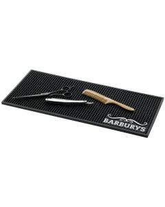 Sinelco Pick-Up anti-slip mat for barber tools zwart