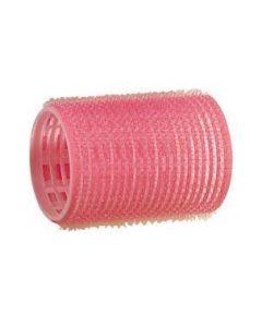 Kleefrollers - roze 44 mm 12 stuks