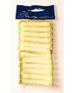 Sibel Permanentwikkels kort 60mm geel Geel 12 stuks