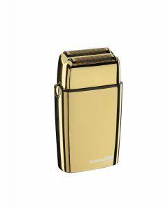 Babyliss PRO 4Artists Gold Metal Double Foil Shaver Goud