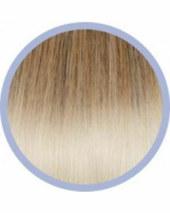 Euro So. Cap. Flat Ring-On Ombre Extensions Goud/ Platinablond DB4-1001 10x50-55cm