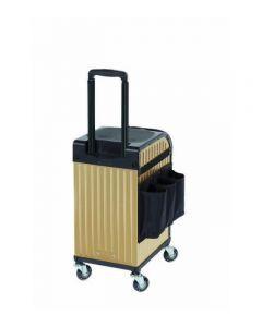 Sibel Trolley koffer goud