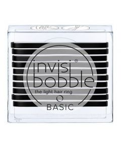 Invisibobble Basic True Black 10st.