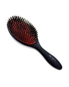 Denman D81 medium haar & nylon platte borstel zwart