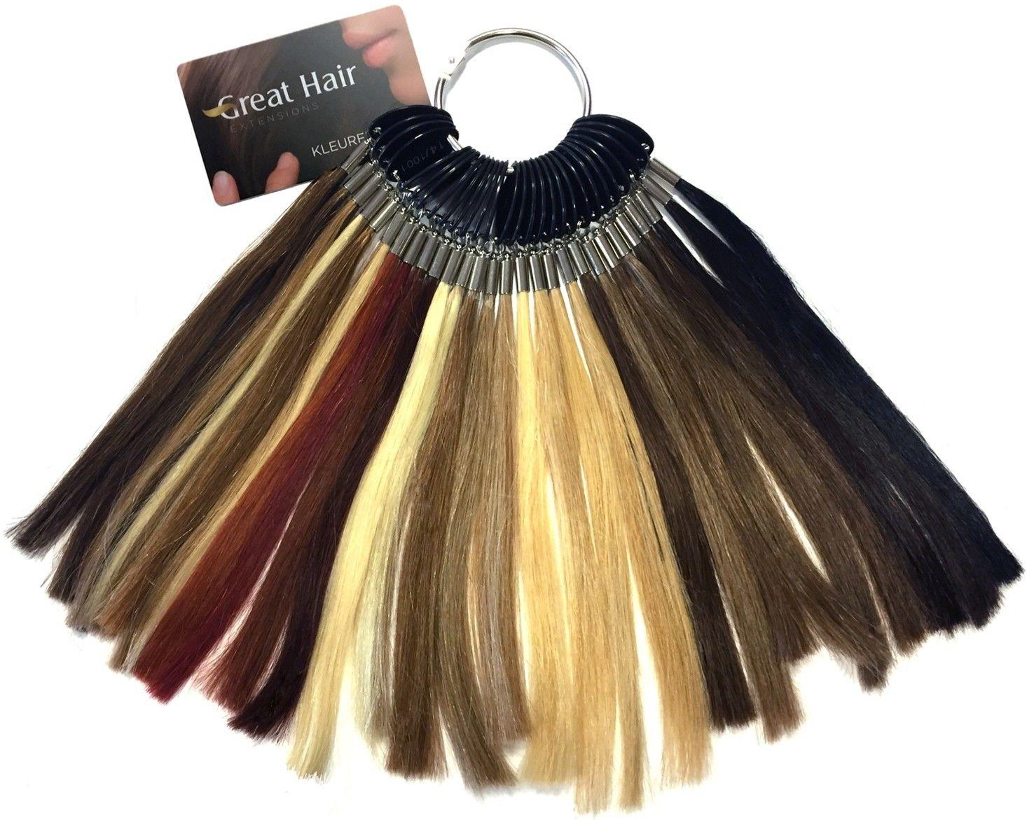 Afbeelding van Great Hair Extensions - kleurenring